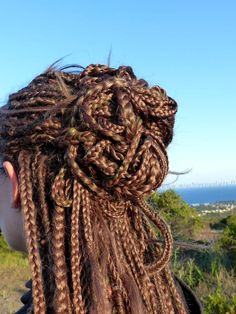long synthetic blond braids dreads