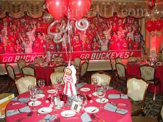 Image detail for -OSU College Football Theme Party - THE Ohio State by Sherri Foxman ...