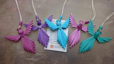 Quilled Angel by QuillingOwl on Etsy