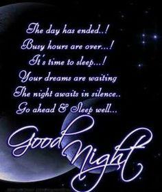 Sleep well Irish!