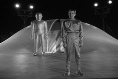 The alien, Klaatu, hopes to persuade humanity to renounce war and atomic weaponry, but mankind isn't ready to agree (This is wistfully conveyed to Klaatu early in the film by Frank Conroy, in an uncredited, quietly powerful performance as an advisor to The POTUS). After an initial brutish encounter with the military, Klaatu escapes and decides he must learn more about humanity if he is going to save it. He adopts the name of Carpenter and moves to a rooming house run by a widow and her…