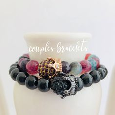 Couples King and Queen Bracelet