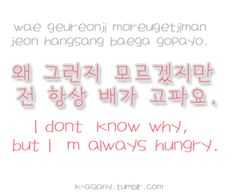 """Find and save images from the """"Learn Korean"""" collection by Love (ihaev) on We Heart It, your everyday app to get lost in what you love. Korean Words Learning, Korean Language Learning, Korean Phrases, Japanese Phrases, How To Speak Korean, Learn Korean, Learning Languages Tips, Learn Hangul, Korean Writing"""