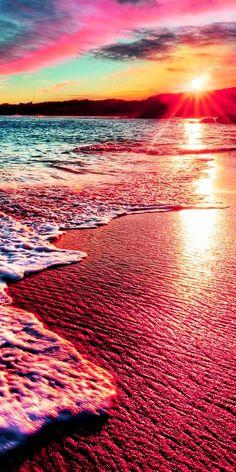 Beach Wallpaper - Fushion News Natur Wallpaper, Ocean Wallpaper, Summer Wallpaper, Scenery Wallpaper, Landscape Wallpaper, Aesthetic Pastel Wallpaper, Cool Backgrounds, Aesthetic Backgrounds, Aesthetic Wallpapers