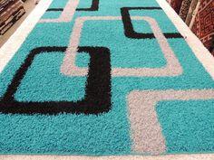 Turkish Shaggy Rug Size: 290 x Newborn Crochet Patterns, Crochet Rug Patterns, Fur Carpet, Pom Pom Rug, Latch Hook Rugs, Shaggy Rug, Rug Inspiration, Butterfly Wall Art, Brown Rug