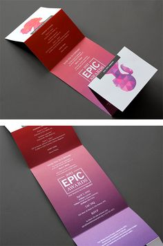 2011 EPIC Awards Identity by Hyperakt | Inspiration Grid | Design Inspiration