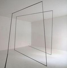 """Gisela Hoffmann """"Raumlinien 23"""", 2010"""