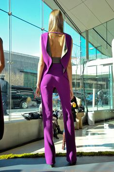 SO in LOVE with this jumpsuit! New York Fall 2012 - Rachel Roy