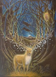 The Deer Lord appear in a vision
