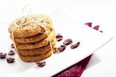 Ovsené cookies s brusnicami