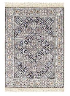 Nain extra fine, wool and silk - Iran 150 x 105  I Amir Rasty & filles - Oriental carpets in Geneva
