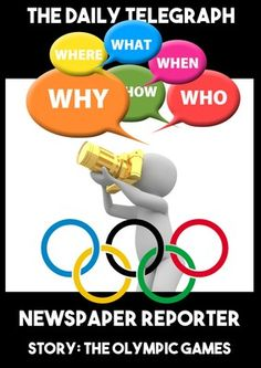 Olympic Games Rio 2016 Newspaper Writing Scandal Scenario from Kiwiland on TeachersNotebook.com (17 pages)