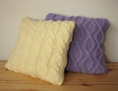 Knit cable pillow cover, sweater pillow, Knitted pillow case Decorative cushion READY TO SHIP by CreamKnit on Etsy