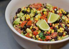 Healthy, Tasty, & Simple Eating: Black Bean, Corn and Avocado Salsa