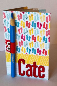 JMS phone booklet - outside by Paper Crafts Photos, via Flickr