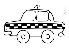 coloring pages for transportation units - photo#26