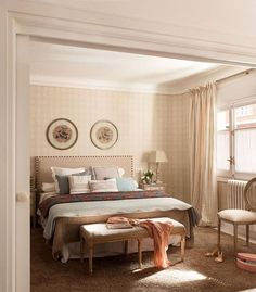 adelaparvu.com despre apartament in stil provence in nuante delicate, design Rotaeche Santayana, Foto ElMueble (6)