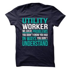 FREAKIN AWESOME UTILITY WORKER T-Shirts, Hoodies. Get It Now ==►…