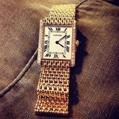 Diamond studded Cartier