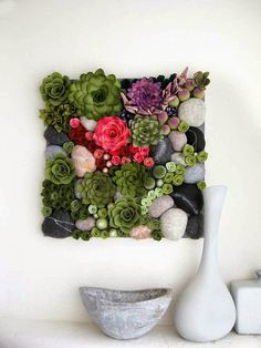 Allred Design Blog: Inspired by Pinterest: Felt Succulents DIY