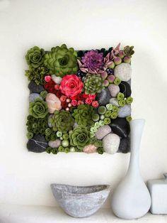Allred Design Blog: Inspired by Pinterest: Felt Succulents DIY
