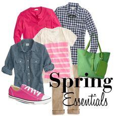 spring style wahm uniform basics.