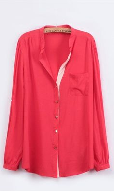 Spell color cotton shirt X626