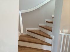 Mdf Stair Treads and Risers – Minimalist Stairs Ideas Attic Stairs Pull Down, Outside Stairs, Outdoor Stairs, Stairs Treads And Risers, Deck Stair Railing, Laminate Flooring On Stairs, Metal Handrails, Stair Nosing, Minimalist