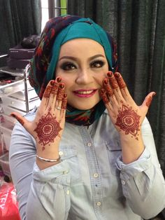 My beautiful henna