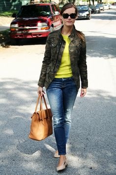 jillgg's good life (for less) | a style blog: my outfit: neon for fall!