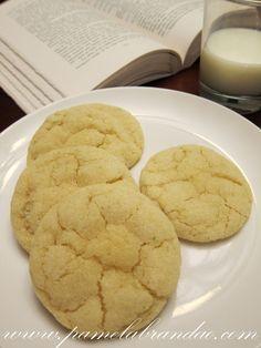 Cookies de Limão e Amêndoas