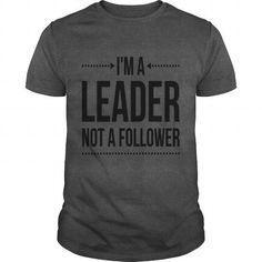 I'm A Leader Hoodies