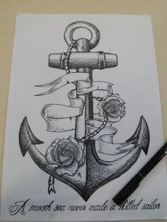 Anchor Dotwork