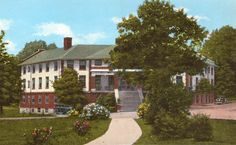 ...Old 1920's Hotel Ware Shoals, SCarolina...my hometown, older brother born in one of the rooms...It is a design of the famous ...Mills.