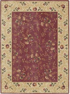 Nourison Somerset ST-05 Rose Area Rugs