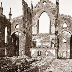 Charleston, South Carolina. Ruins.