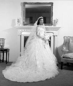 Late 1950's bride