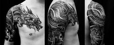 dragon tattoo sleeve - Buscar con Google