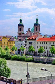 Innsbruck Dom zu Sankt Jacob ,Austria