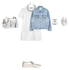 """""""Untitled #969"""" by elenekhurtsilava ❤ liked on Polyvore featuring Alexander McQueen, H&M, Topshop, Miu Miu and Marsèll"""