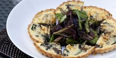 Try this Mushroom Tart with Spinach and Gruyere recipe by Chef Curtis Stone. This recipe is from the show Chefs Christmas Gruyere Cheese, Vegetarian Dinners, Vegetarian Recipes, Curtis Stone Recipes, Savory Tart, Savoury Pies, Savoury Recipes, Mushroom Tart, Kitchens