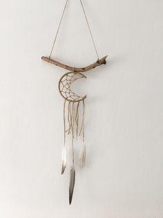 A personal favorite from my Etsy shop https://www.etsy.com/il-en/listing/267907095/hemp-rope-dreamcatcher-moon-dreamcathcer  #bohemianwedding #nurserywalldecor #whitedreamcatcher #Dreamcatcher #wallhanging #bohowalldecor #weddingdecor #boho