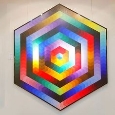 An immersive and graphic work of Victor Vasarely displayed at the gallery Bartoux. Victor Vasarely, We, Coups, Printmaking, Geometry, Design Trends, Contemporary Art, Palette, Display