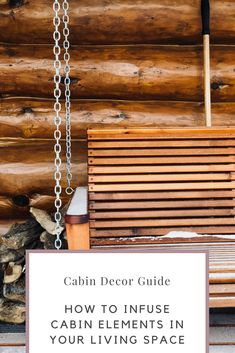 Use this guide to find creative ways to incorporate those cozy cabin vibes in your everyday living space. Lodge Furniture, Lake Cabins, Cozy Cabin, Lake View, Hygge, Living Spaces, Goals, Dreams, Lifestyle