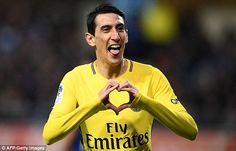 Angel Di Maria stepped up to show his experience, opening the score for Paris Saint-Germain