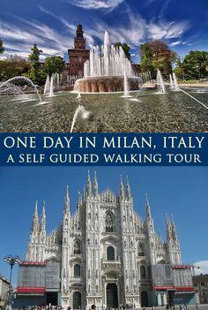 One Day in Milan - Self Guided Milan Walking Tour