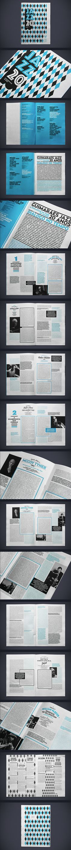 JAZZ 2011 JOURNAL by Atelier Martinoña , via Behance