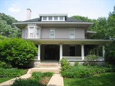 William H. Copeland House - Oak Park, Illinois, 1908-09