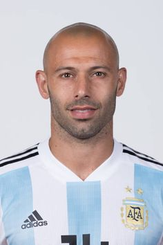 Javier Mascherano of Argentina poses for a portrait during the official FIFA World Cup 2018 portrait session on June 12 2018 in Moscow Russia Argentina Football Team, Fifa World Cup 2018, International Football, Poses, Best Player, Fc Barcelona, All Star, Adidas, Portrait