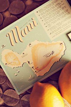Real Wedding: Lindsay and Rob's Maui Destination Wedding. Love this idea!